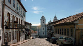 Colonial town of Diamantina, Brazil