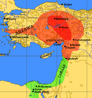 File:Map of Hittites Empire.png