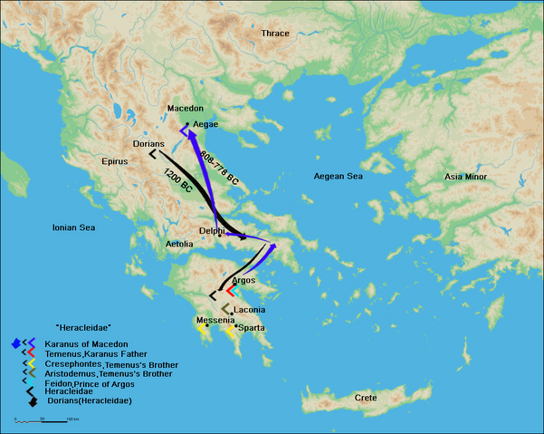 File:Route of Karanos to establish his own kingdom.png