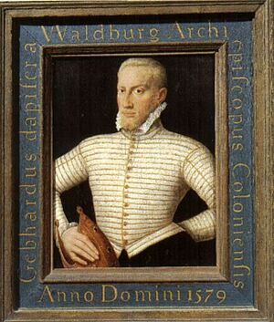 Gebhard of Waldburg of Cologne