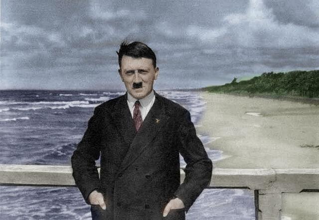 File:Adolf on a Stormy Beach.jpg