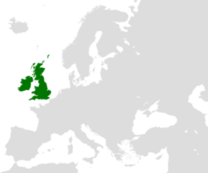 United Kingdom of Great Britain and Ireland-locator