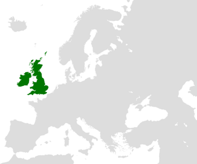 United Kingdom of Great Britain and Ireland-locator