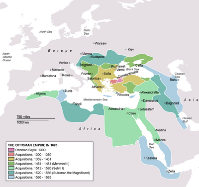 Ottoman Empire-1683