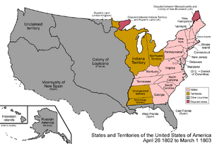 United States 1802-1803-03
