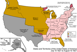 United States 1821-07-1821-08