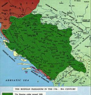 Bosnia Eyalet-17th century