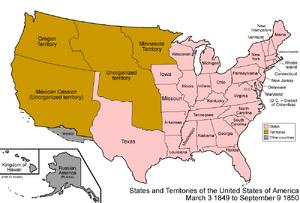 United States 1849-1850