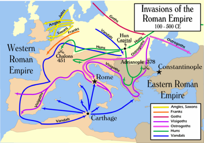 Invasions of the Roman Empire