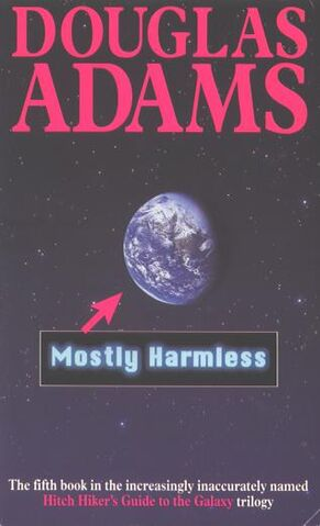 File:Mostly Harmless cover.jpeg