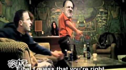 Hitler meets the Fegelein's little sister