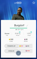 Bunkemon Stat Card Burgdorf