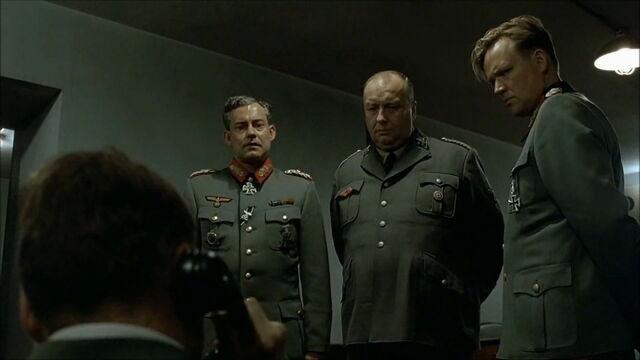 File:Krebs Bormann Burgdorf look at Hitler.jpg