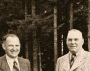 Franz Schädle with Johann Rattenhuber