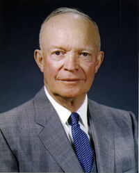 Dwight D. Eisenhower, official photo portrait, May 29, 1959