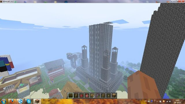 File:Minecraft Unterganger City skyscraper.jpg