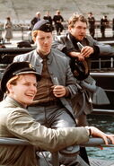 Oliver Stritzel in Das Boot as Schwalle