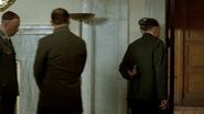 Hitler leaves