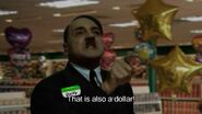 Dollar Store Hitler at cash register