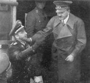 Otto Dietrich with Hitler (1938-39)