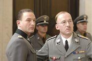 Fegelin Himmler at Dolfy's birthday