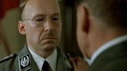 Hitler gives Himmler a pat on the back