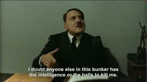 Hitler is informed about a plot to assassinate him