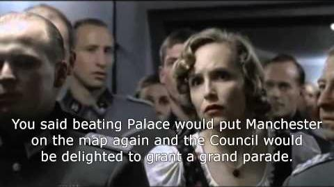 Hitler Demands Man United Victory Parade After Beating Crystal Palace.