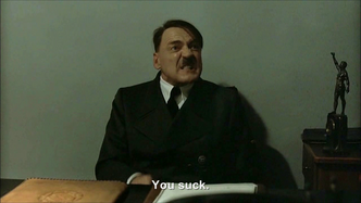 Hitler is informed he's on YouTube