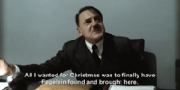 "Hitler is asked ""How was your Christmas?"""