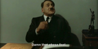 Hitler is informed Reichmart had no dog food