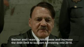 Hitler plans to raise the debt ceiling