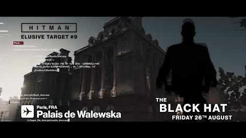 HITMAN Elusive Target 9 The Black Hat