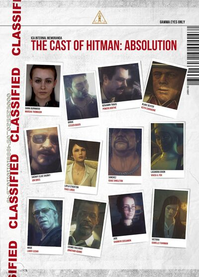 Absolution - Casts Gallery