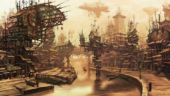 Village-steampunk