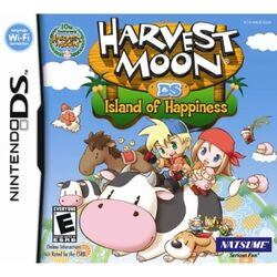 Harvest Moon DS Island of Happiness box