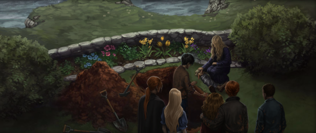 File:Funeral of Dobby Pottermore.png