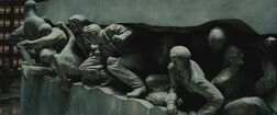 Muggles statue