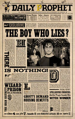 Daily prophet the boy who lies