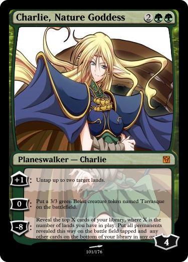 Charlie Nature Goddess