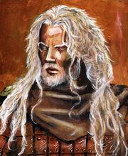 ABportrait d Ogmios by llewllaw