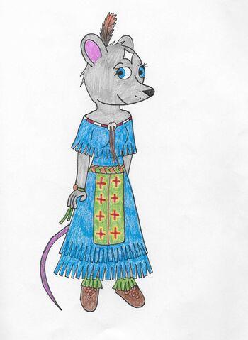 File:Star powwow dress.jpg