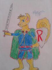 Abbey Warrior Alderjack