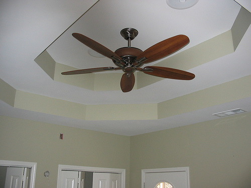 File:Bedroom ceiling, when house was new.jpg