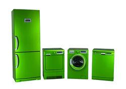 Frosted Grenn appliances