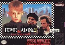 Home Alone 2 Snes Cover