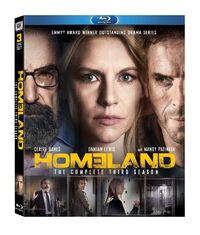 Homeland Season 3 Blu-ray