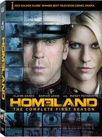 Homeland Season 1 DVD