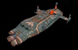 Flak frigate
