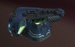 Warship Kuun-Lan - Battle for Nomad Moon
